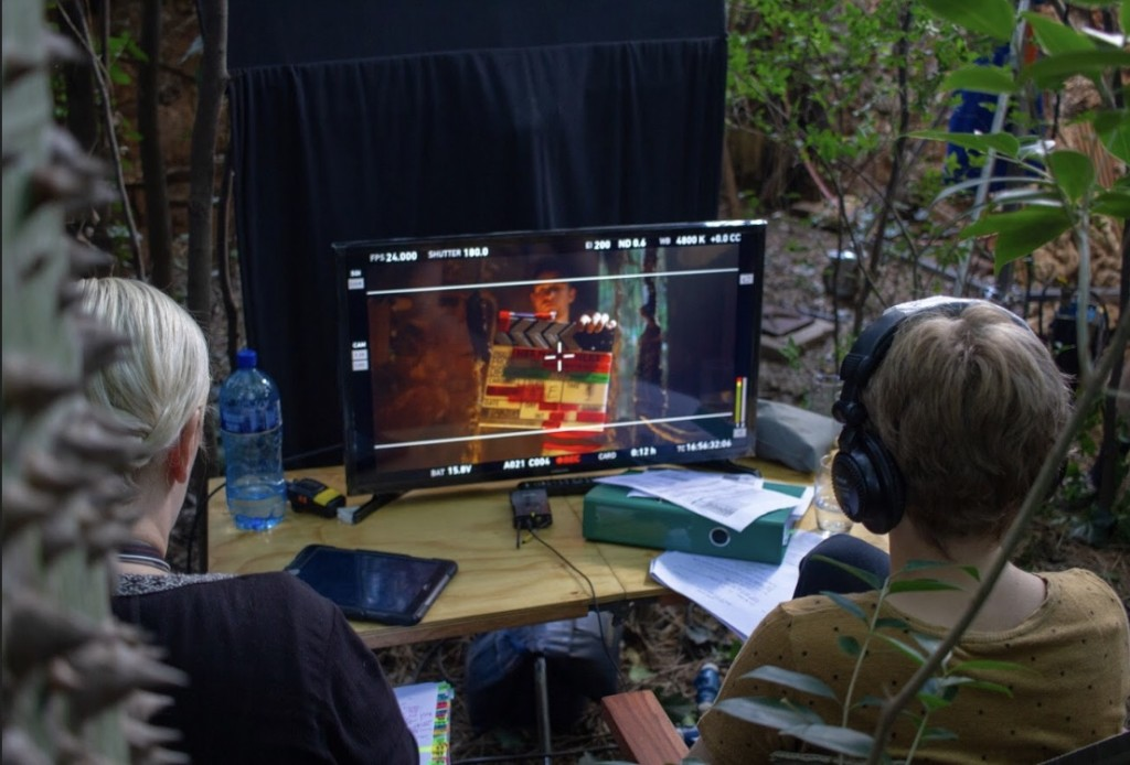 Behind the scenes Photo: Ockert Olivier