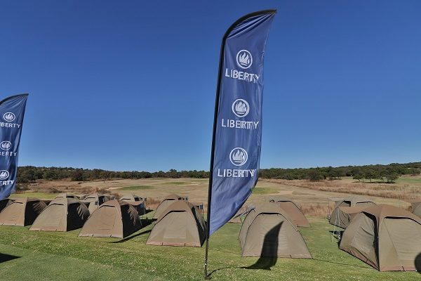 Entrants in the Liberty Waterberg Encounter mountain-bike race near Bela-Bela in Limpopo from June 7 to 9 can opt for the luxury tented accommodation option at the Elements Private Golf Estate for the Friday and Saturday nights. Photo: Gerrie Kriel/Twin Productions SA