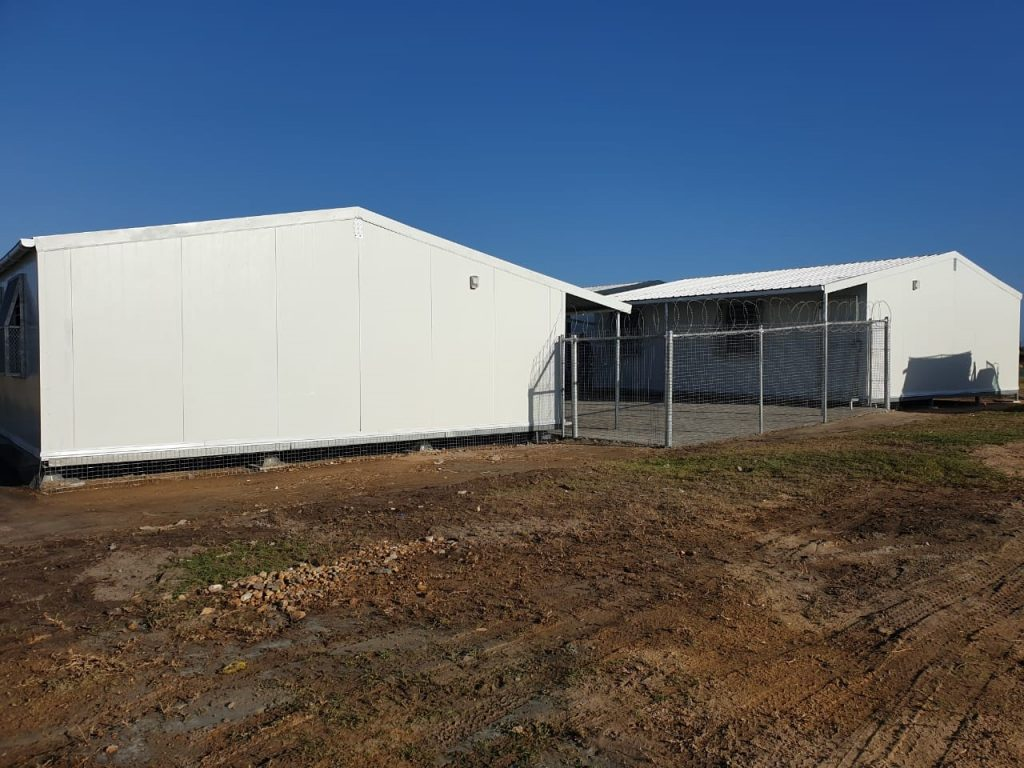 Western Cape Kwikspace classrooms are corrosion resistant for increased longevity