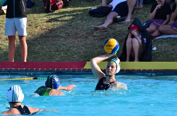 Madibaz second-year student Casey Mcleavy was named the female water polo player of the year at the recent Nelson Mandela Bay Aquatics prize-giving in Port Elizabeth. Photo: Sehjones